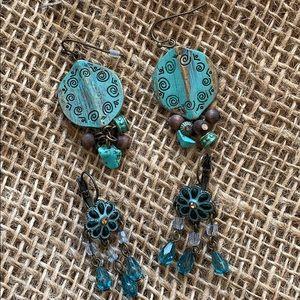 Jewelry - Fashion jewelry earrings (2 sets)